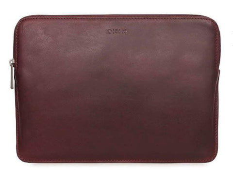 Knomo Leather Sleeve brun 12 & 13""