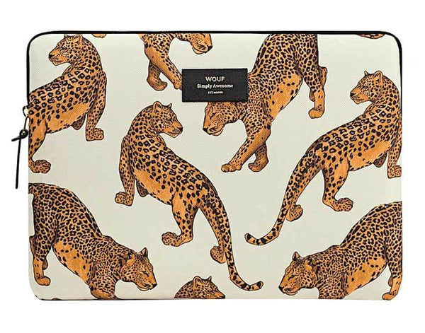 "WOUF - LEOPARD 13"" - LAPTOP SLEEVE"