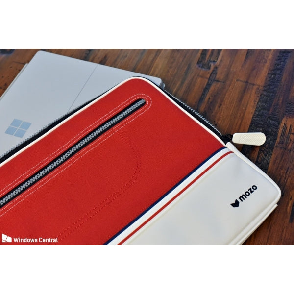 Mozo Red sneaker laptop sleeve 13