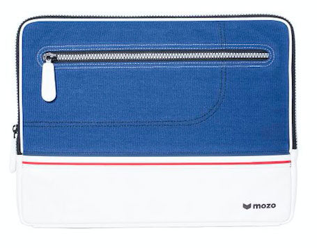 Mozo Blue sneaker laptop sleeve 13""