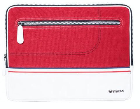 Mozo Red sneaker laptop sleeve 13""
