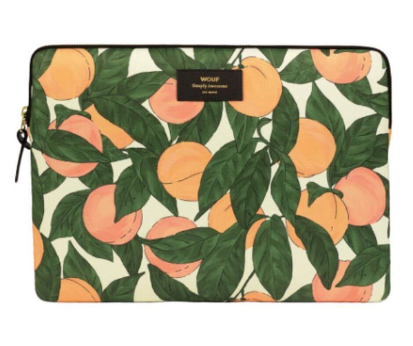 "WOUF - Peach 13"" - Laptop sleeve"