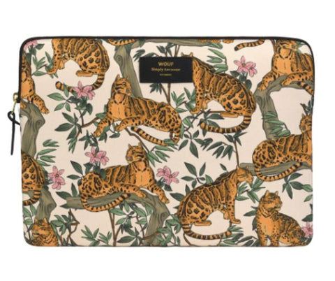 "WOUF - Lazy Jungle 13"" - Laptop sleeve"