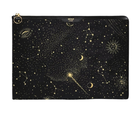 "WOUF - GALAXY 13"" - LAPTOP VELOUR SLEEVE"