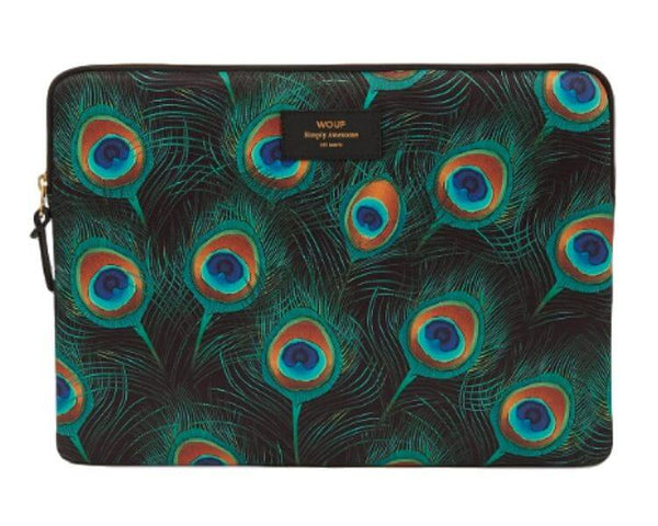 "WOUF - Peacock 13"" - Laptop sleeve"
