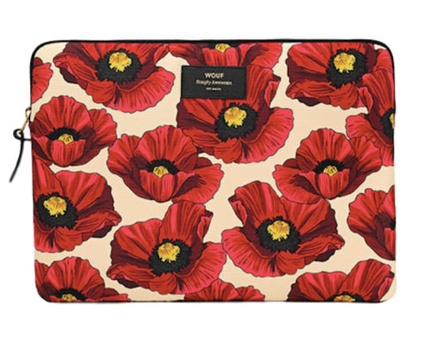 "WOUF - POPPY 13"" - LAPTOP SLEEVE"