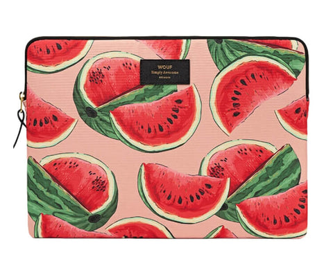 "WOUF - WATERMELON 13"" - LAPTOP SLEEVE"