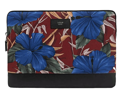"WOUF - HIBISCUS 13"" - LAPTOP SLEEVE"