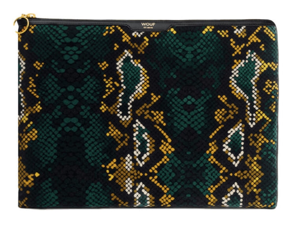 Macbook sleeve - Snakeskin Wouf
