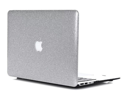 Sølv glimmer cover til Macbook Pro 13 & 15