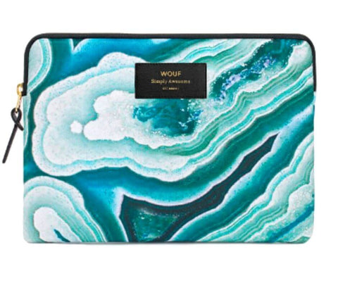 "WOUF - Blue Mineral 13"" - Laptop sleeve"