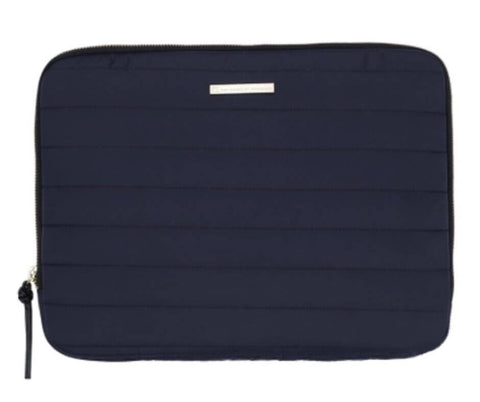 "Day GW Puffer Folder 13"" Navy computer sleeve"