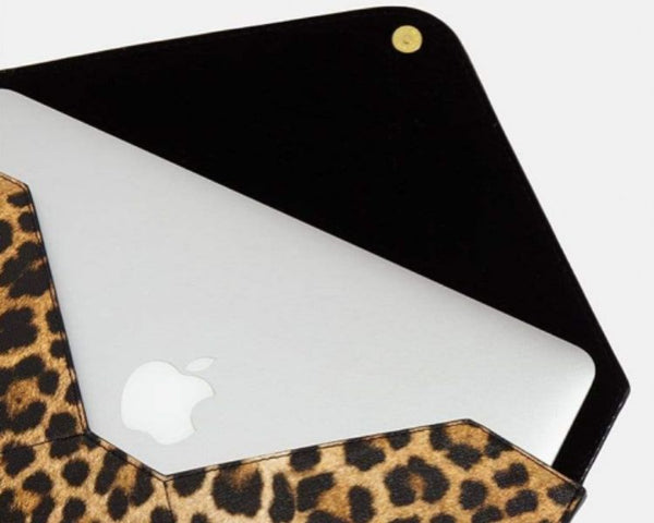 macbook sleeve leopard print