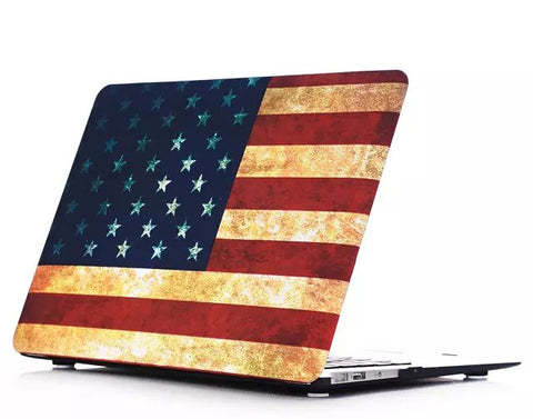 USA flag Macbook Air cover