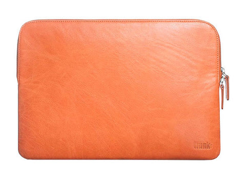 Trunk brun Læder Laptop Sleeve 13""