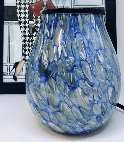 Iceland Hand Blown Glass Soy Wax Warmer