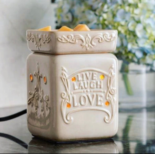 Live Love Laugh Illumination Warmer