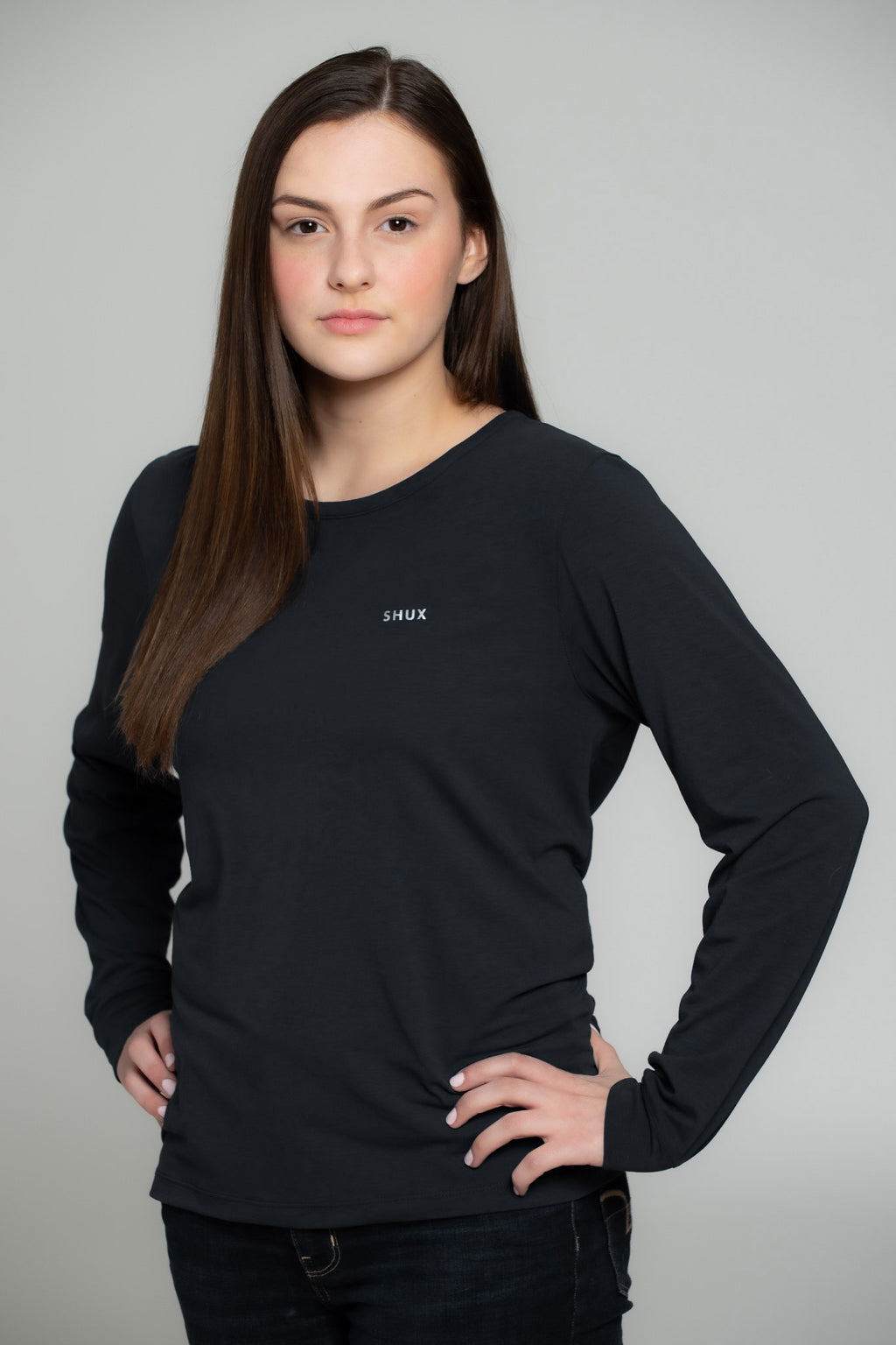 Packable Long Sleeve Tee - Women's