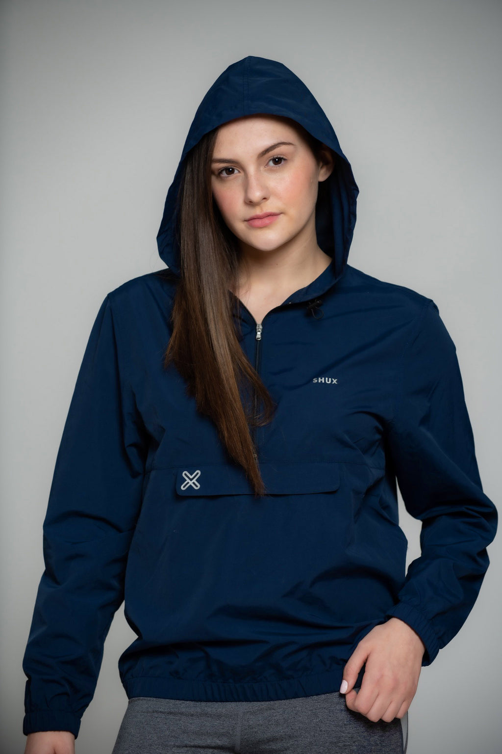 Packable Pullover Windbreaker - Women's