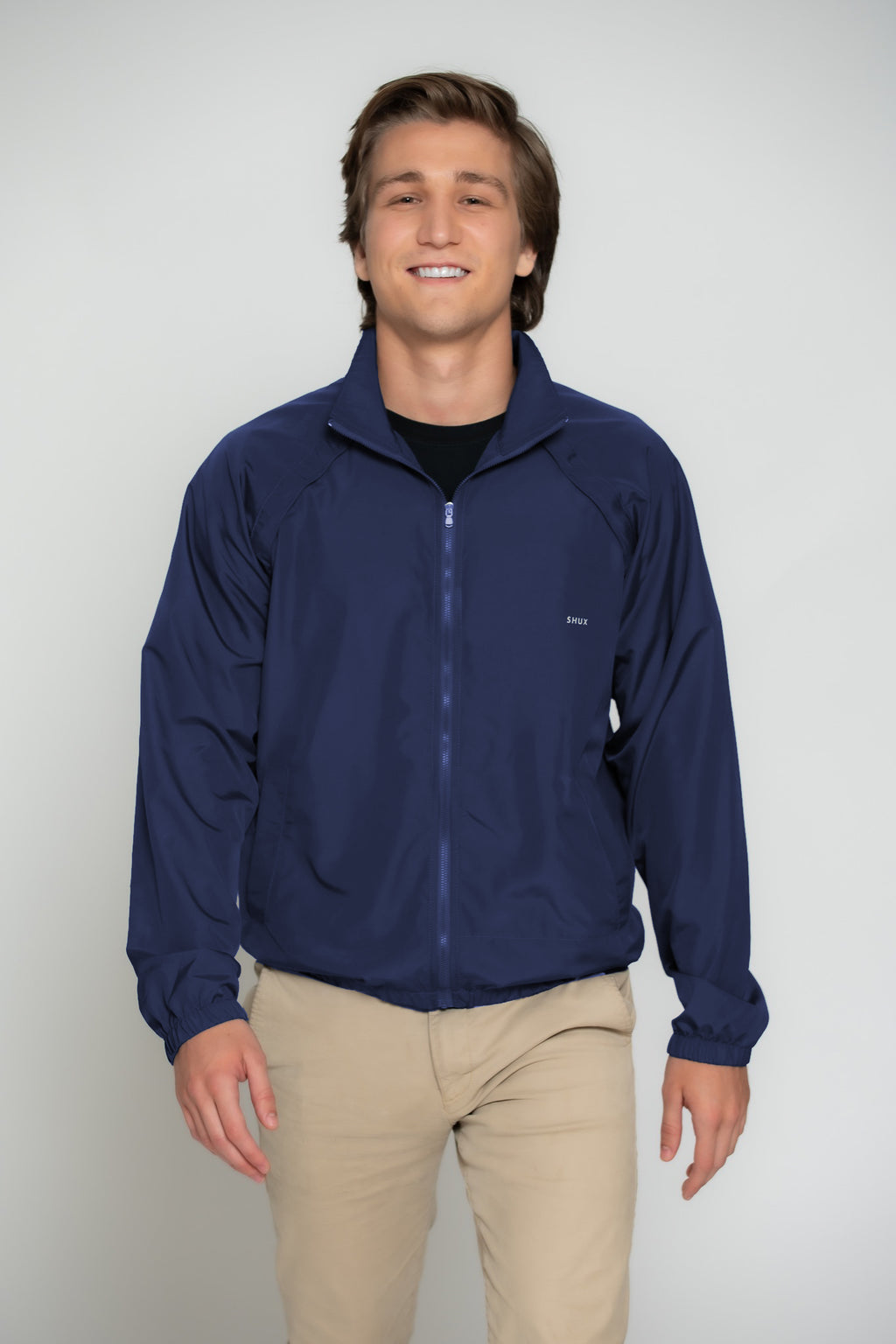 Packable Windbreaker Jacket- Men's