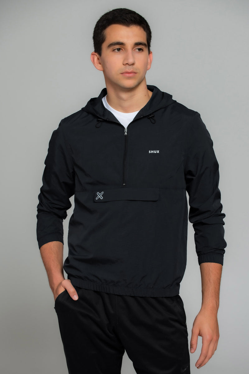 Packable Pullover Windbreaker - Men's