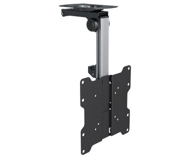 Large Folding Under Cabinet / Sloping Ceiling Bracket for 17-37 inch LCD/LED TV's and Monitors