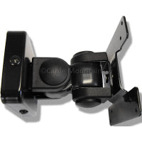 Black LCD TV or Monitor Tilt and Swivel Bracket