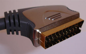 Ultimate Gold Plated Scart Cable