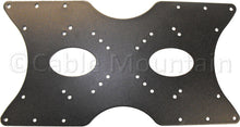 Large Black VESA LCD or Plasma TV Adapter Mounting Plate - to 400mm