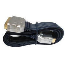 Gold Plated Ribbon (Flat) Scart Cable