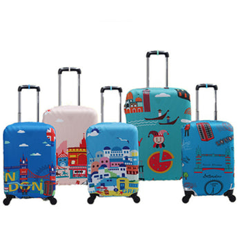 Waterproof Elastic Luggage Protective Cover