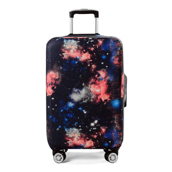 Elastic Galaxy Trolley Luggage Cover Dust Rain Suitcase Protective