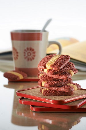 Red Velvet Cheese Cookies (红丝绒芝士饼干)
