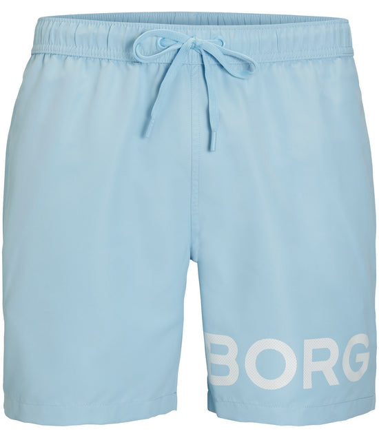 BJORN BORG Sheldon Swim Shorts Men's Swimwear Light Blue - Activemen Clothing