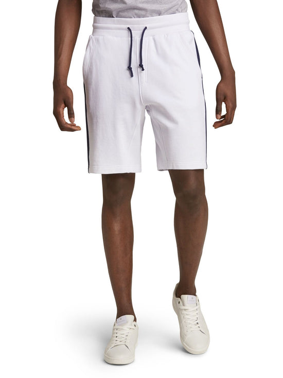 BJORN BORG  Eddy Long Cotton Shorts White - Activemen Clothing