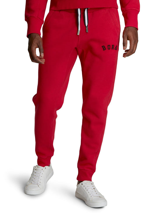 BJORN BORG Sport Men's Track Pants Joggers Bottoms Red - Activemen Clothing