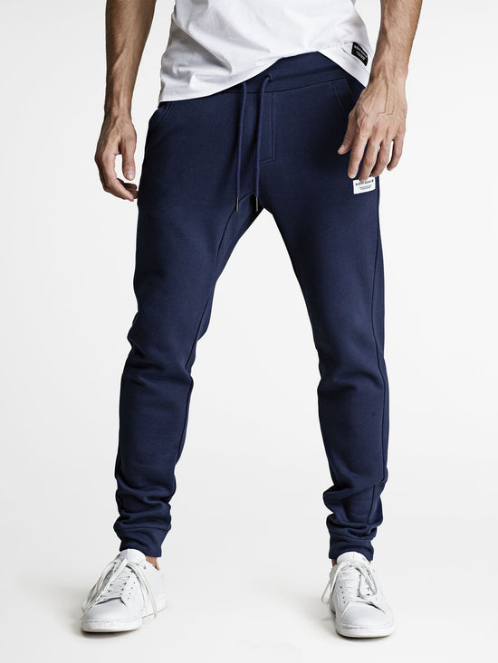 BJORN BORG Classic Track Pants Men's Joggers Bottoms Navy - Activemen Clothing
