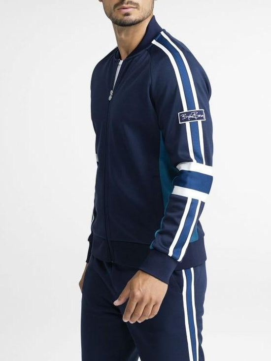 BJORN BORG Signature Archive Zipped Track Jacket Men's Tracksuit Top Blue - Activemen Clothing