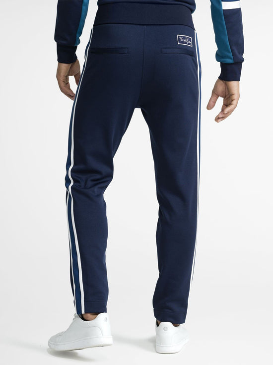 BJORN BORG Signature Archive Track Pants Men's Joggers Bottoms Blue - Activemen Clothing