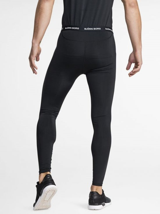 BJORN BORG Hunter Leggings Underlayers Men's Tights Meggings Black - Activemen Clothing