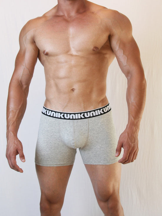 NIKU Long Trunks Men's Underwear Underpants Grey - Activemen Clothing