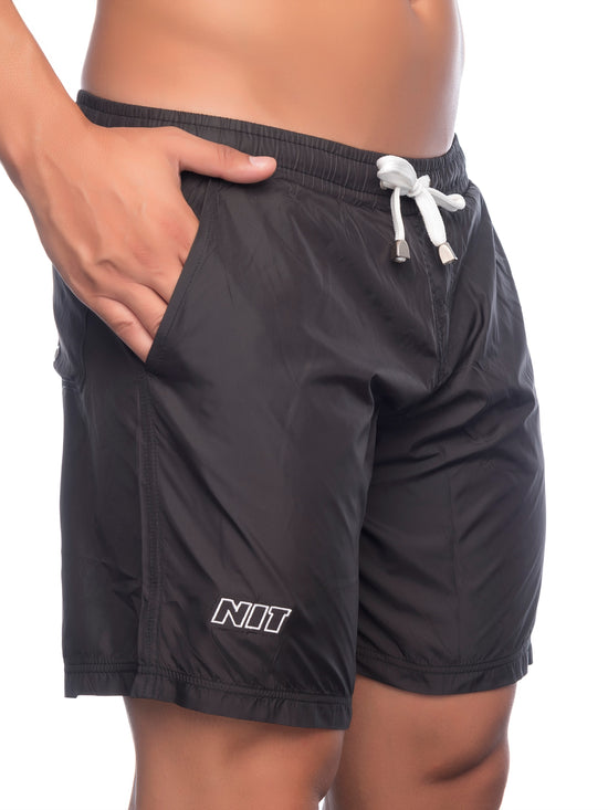 NIT Oscar Bermuda Shorts Men's Paddleboarding Beach Shorts Black - Activemen Clothing