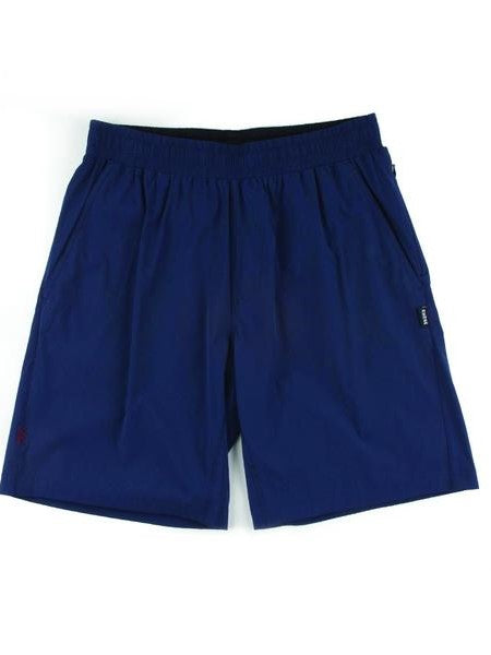 "RHONE Mako 7"" Unlined Gym Shorts Men's Zipped Pocket Shorts Navy - Activemen Clothing"