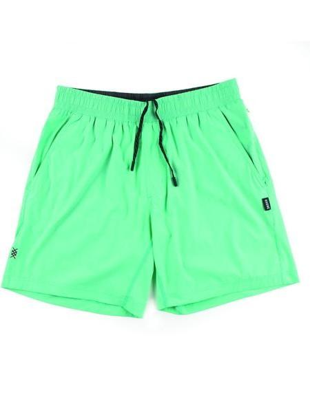 "RHONE Mako 7"" Unlined Gym Shorts Men's Zipped Pocket Shorts Spearmint Green - Activemen Clothing"