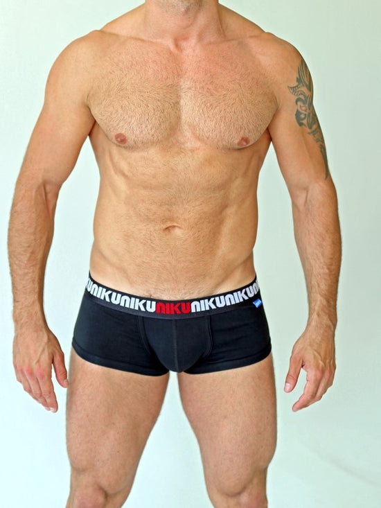 NIKU Short Trunks Men's Underwear Underpants Black - Activemen Clothing
