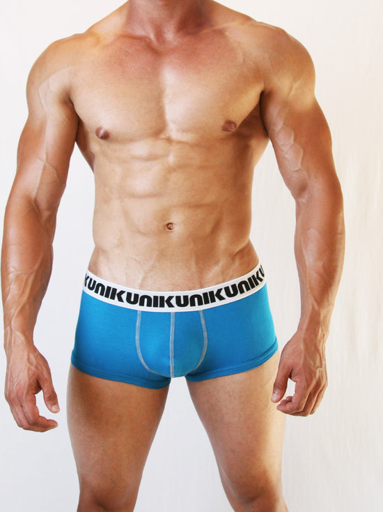 NIKU Short Trunks Men's Underwear Underpants Turquoise Blue - Activemen Clothing