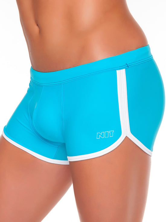 NIT Karim Swimming Shorts Men's Swimwear Enhancing Swimwear Turquoise - Activemen Clothing