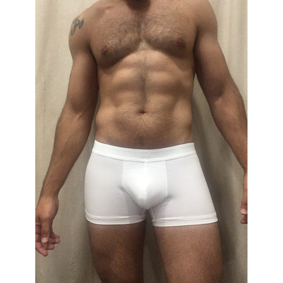 BLUEBUCK Classic Triple White Trunks Underwear - Activemen Clothing