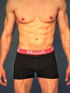 MOUNK of Sweden Bamboo Boxer Shorts Men's Underwear Black - Activemen Clothing