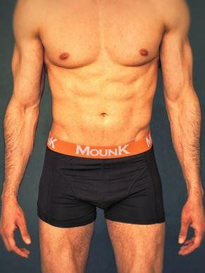 MOUNK of Sweden Bamboo Boxer Shorts Men's Underwear Navy - Activemen Clothing
